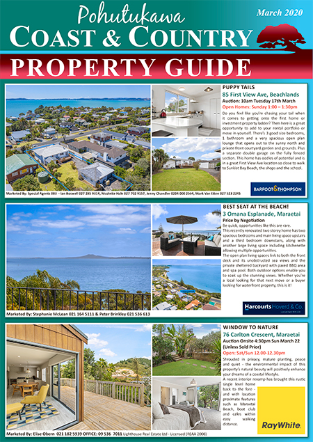 Coast & Country Property Guide March 2020